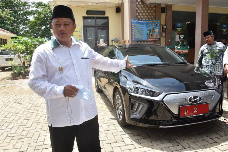 Geber Mobil Listrik, Baterai Hyundai Ioniq Wagub Jabar Sisa 3 Persen