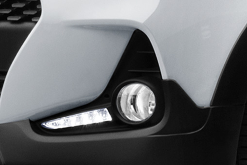 Dual Tone front Bumper with DRL & Fog Lamp
