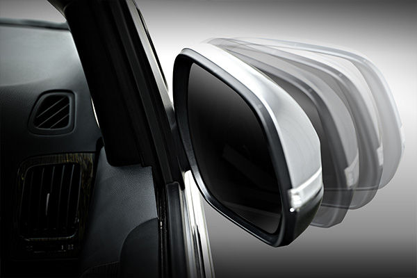 Electric Folding Outside Mirrors with Side Repeater