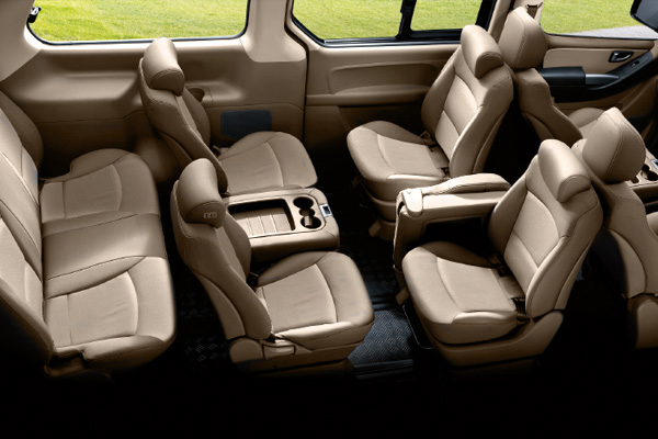 New Second Row Swivel Seat (XG & Elegance Type)