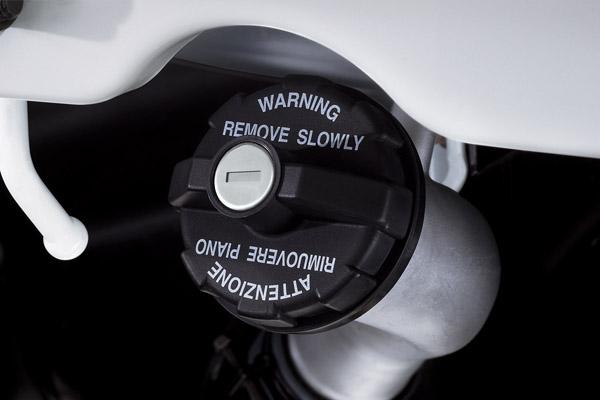 Fuel Cap with Lock