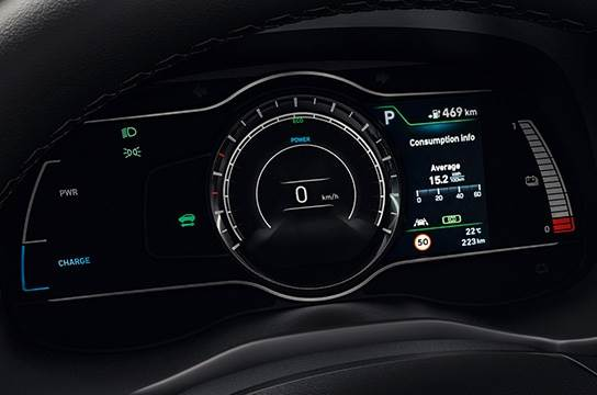 New 7 Inchi Instrument Cluster