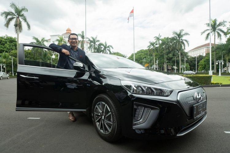 Ridwan Kamil Pakai Hyundai Ioniq dan Kona EV